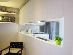 Study room. HDB maisonette. Singapore public housing. Atelier M+A. Minimalist. Featured in Dwell Asia.
