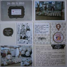 Můj papírový relax: Project life 12 - left page Project Life, Relax, Projects, Log Projects, Blue Prints
