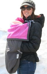 RoSK Pouch - my husband talked me out off it when it was on BabySteals the other day... but then I ordered right from ROSK! It's perfect for my Ergo, but even better as just a stroller blanket! Wraps around her feet and keeps her nice and warm!