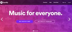 The Top 15 Sites for Free Streaming Music: Spotify