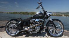 Saddle for Harley Davidson Custombike Custom Chrome
