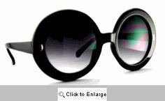 Ashley's Super Big Sunglasses - 527 Black