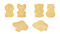 Designed by Lucia Gaggiotti for Artisan Biscuits Cute Food, Biscuits, Illustrator, Artisan, Graphic Design, Crack Crackers, Cookies, Biscuit, Craftsman