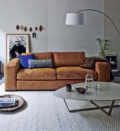 leather couch |  Montel wooninspiratie