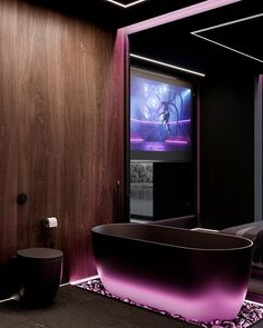 Luxury Homes Dream Houses, Bathroom Design Luxury, Contemporary Apartment, Dark Interiors, Cool Rooms, House Rooms, My Dream Home, Interior Architecture, Amazing Architecture