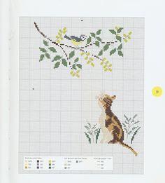 Gallery.ru / Фото #12 - Perrette Samouiloff - Les chats - velvetstreak