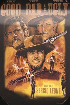 The Good, The Bad, and The Ugly Movie Poster Art (available only in stores) Click image to see weekly ad