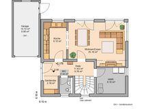 Kern-Haus Loop Plus Grundriss Erdgeschoss