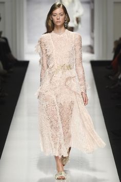 Fashion 2017, Couture Fashion, Runway Fashion, Spring Fashion, Fashion Show, Fashion Design, Milan Fashion, Reem Acra Bridal, Ermanno Scervino