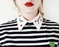 detachable peter pan collar – Etsy MX
