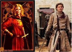 Book's Jaime Lannister X Show's Jaime Lanister