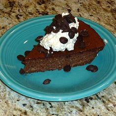 Sugar Free Chocolate Pecan Torte - Oh my gosh, just wait until you try this over-the-top dessert. It's so easy!