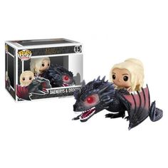 Funko Pop! Daenerys & Drogon, Game of Thrones, GOT, HBO, Daenerys Targaryen, Funkomania, Séries