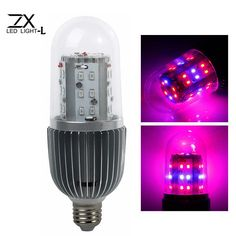 ZX 360 Degree 36W LED Plant Growth Corn Lamp Bulb Garden Greenhouse Plant Seedling Light