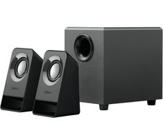 Purchase Logitech - Speakers - Black - (USB-powered) online from our electronics store and enjoy having your favourite Speaker Sets Apple Tv, Remote, Usb, Speakers, Design, Education, Black, Products, Black People