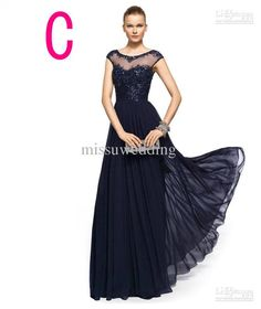 Elegant Dark Navy dress