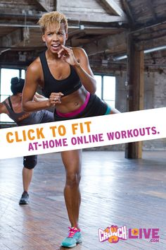 One click to fit! Exercise with 85+ online workouts inspired by Crunch Gym's most popular classes! From cardio and strength training to pilates, yoga and barre – there's a workout for everyone. Start your FREE 30-day trial today at www.crunchlive.com(Use code PIN2016).