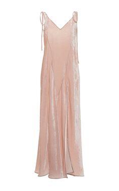 LOVE Prom Dresses Marisa velvet slip dress by Attico Evening Attire, Evening Dresses, Bridesmaid Dresses, Prom Dresses, Bridesmaids, Velvet Slip Dress, Dress Attire, Textiles, Nice Dresses