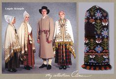Latgale Latvian costumes