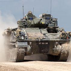 British Army Warrior Infantry Fighting Vehicle