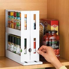 Diy household tips 779474647993817693 - Multi-Function Rotating Storage Rack (Limited Time OFF) – semiwels Source by Space Saving Kitchen, Tidy Kitchen, Kitchen Gadgets, Messy Kitchen, Space Saving Storage, Functional Kitchen, Kitchen Items, Room Kitchen, Kitchen Tools