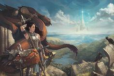 Girl And Her Dragon 1 - Dragonrider