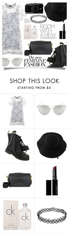 """Simple Outfit #241"" by rizkafathi ❤ liked on Polyvore featuring Antipodium, Chicnova Fashion, Dr. Martens, Versace, Sans Souci, Lanvin, Witchery, Calvin Klein and polyvoreeditorial"