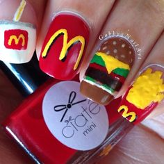 Heh of u started working at McDonald's u could do this and I bet ur boss would loooove you!