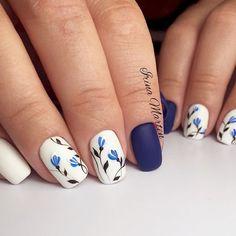 Stunning Examples of Cobalt Blue Nails For Elegant Ladies ★ See more: https://naildesignsjournal.com/cobalt-blue-nails/ #nails