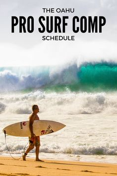 Pro Surf Events on Oahu- The Reason to Visit during the Winter months.