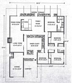 Anshen Allen Plan 37 Perhaps First Eichler Atrium Model