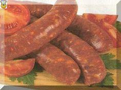 Domáca Kuchárka: Papriková klobása Sausage, Meat, Food, Sausages, Meals, Chinese Sausage