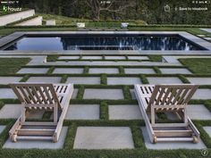 Artificial turf and pavers for poolside