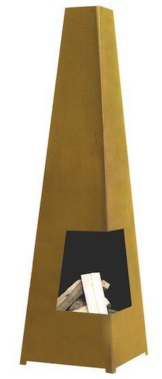De Terrashaard Chacana is een stijlvolle en moderne terrashaard. Door het strakke design misstaat deze tuinhaard in geen enkele tuin. De Chacana heeft een vierkant model dat taps toeloopt. Hierdoor heeft de haard een goede trek. De stalen haard is door en door gelast en kan daardoor tegen een stootje. De terrashaard Chacana wordt daarnaast gekenmerkt door een geweldige brandvermogen.    Deze Terrashaard is gemaakt van een koperhoudende staalsoort (corten). Onze prijs € 149,00 Fireplace Heater, Fireplace Garden, Esschert Design, Fire Pit Patio, Fire Bowls, Lava Lamp, Table Lamp, Home Decor, Fireplaces