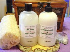 Basic Essential Shampoo & Re-Constructive Conditioner Duo 16 oz. by MarozniasAdornments on Etsy