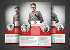 Corporate Flyer by AfzaalGraphics on Creative Market