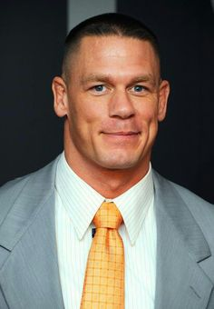 John Cena - WWE (a smile with dimples - extra cute)