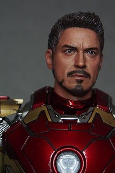 9450e2c53ce CHT-056 Tony Headsculpt for Hot Toys Iron Man Mark 4