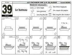 Boot tekenen / GEOMETRIE ET CONSTRUCTIONS
