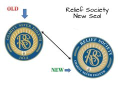 new Relief Society Seal