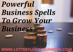 Powerful Business Spells To Grow Your Business - Lottery Lucky Numbers Spells