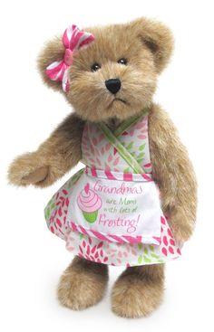 Boyds Bears Mimi Sweetlove Mother's Day 10 Inch Grandmother Teddy Bear Plush