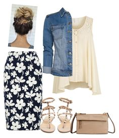 """""""So uhm is it summer yet?"""" by ohraee019 on Polyvore featuring Marni, VILA, MANGO, Valentino and Tumi"""