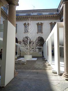 Palazzo Cusani  per White in the city - Milano Design Week https://lefotodiluisella.blogspot.it/2017/04/immagini-milano-design-week.html