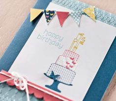 How to create outstanding birthday cards.  Ask me how or go to www.pennynichols.stampinup.net