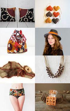 Autumn pattern by Elena Anufrieva, RivuletPhotography  --Pinned with TreasuryPin.com