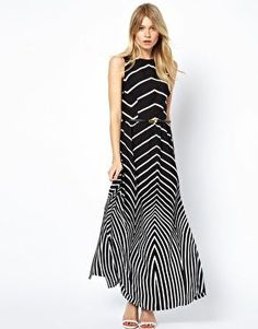 Visit kpopcity.net for the biggest discount fashion store worldwide! Over thousands of styles to choose from Oasis Stripe Maxi Dress #summer #workwear