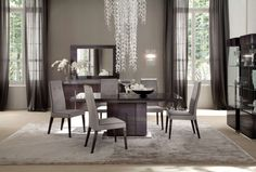 Cool Inspirations For Contemporary Dining Tables: European Design For Great Contemporary Dining Tables Design Ideas