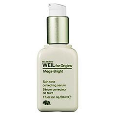 Dr. Andrew Wil for Origins Mega-Bright Skin Tone Correcting Serum    I've seen results in a 1 week!