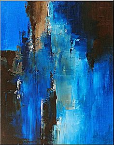 """Passage - 30"""" x 24"""" - Abstract Acrylic Painting on Canvas - Original Fine Art - Contemporary Style. Charlen Williamson"""